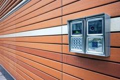 De Intercom van de deur Royalty-vrije Stock Foto
