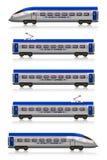 De interlokale reeks van de Sneltrein vector illustratie