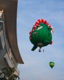 5de Internationaal FI van de de Hete Luchtballon van Putrajaya Stock Afbeeldingen