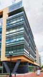 De internationaal monetair fondsenbouw bij Washington DC stock afbeeldingen
