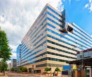 De internationaal monetair fondsenbouw in Washington DC royalty-vrije stock foto