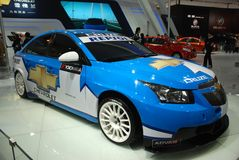 De internationale Automobiele tentoonstelling Chevrole van China Royalty-vrije Stock Afbeelding