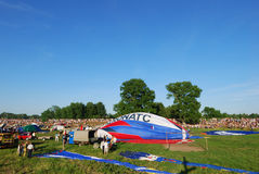 De internationale Ballon van xvi-Th Velikie Luki komt samen Royalty-vrije Stock Foto's