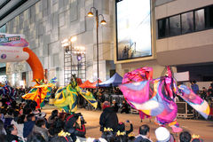 De internationale Chinese Parade 2012 van de Nacht van het Nieuwjaar Stock Foto's