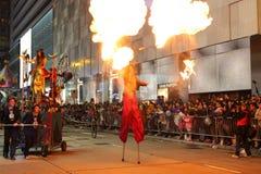 De internationale Chinese Parade 2013 van de Nacht van het Nieuwjaar Royalty-vrije Stock Foto