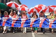 De internationale Dag van Arbeiders Royalty-vrije Stock Foto