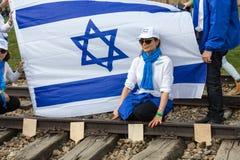 De internationale Dag van de Holocaustherinnering Stock Foto's