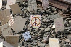 De internationale Dag van de Holocaustherinnering Royalty-vrije Stock Afbeelding