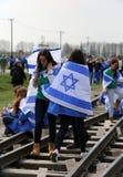 De internationale Dag van de Holocaustherinnering Stock Fotografie