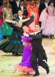 De internationale Dans van de wedstrijd beheerst 2010 Royalty-vrije Stock Afbeeldingen