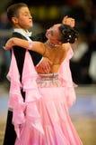 De internationale Dans van de wedstrijd beheerst 2010 Stock Foto