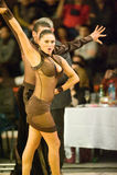 De internationale Dans van de wedstrijd beheerst 2010 Stock Foto's