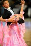 De internationale Dans van de wedstrijd beheerst 2010 Stock Afbeelding