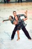 De internationale Dans van de wedstrijd beheerst 2010 Stock Fotografie