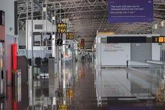 De internationale de Luchthavenbouw van Brussel Stock Fotografie