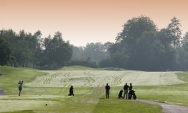 De internationale golfclub van Parijs, Stock Fotografie
