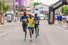 De Internationale Halve Marathon 2015 van Boekarest Royalty-vrije Stock Foto's
