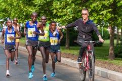 De Internationale Halve Marathon 2015 van Boekarest Royalty-vrije Stock Afbeelding