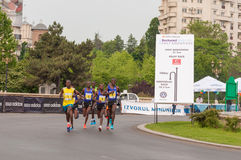 De Internationale Halve Marathon 2015 van Boekarest Royalty-vrije Stock Fotografie
