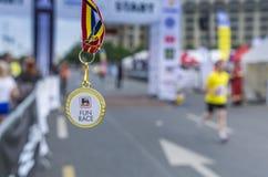De Internationale Halve Marathon van Boekarest Royalty-vrije Stock Foto