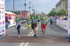 De Internationale Halve Marathon van Boekarest Royalty-vrije Stock Foto's