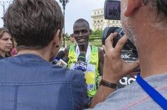 De Internationale Halve Marathon van Boekarest Royalty-vrije Stock Afbeeldingen