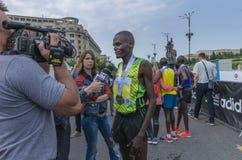 De Internationale Halve Marathon van Boekarest Royalty-vrije Stock Fotografie