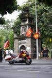 """De Internationale het Cirkelen van VTV Toernooien †""""Ton Hoa Sen Cup 2016 op 2 September, 2016 in Hanoi, Vietnam Stock Afbeelding"""