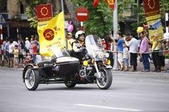 """De Internationale het Cirkelen van VTV Toernooien †""""Ton Hoa Sen Cup 2016 op 2 September, 2016 in Hanoi, Vietnam Royalty-vrije Stock Fotografie"""