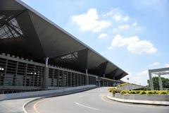 De Internationale Luchthaven van Alfonso Bonilla Aragà ³ n, Cali, Colombia stock foto