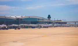 De Internationale Luchthaven van Dallas/van Fort Worth Stock Foto