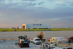 De Internationale Luchthaven van Denver stock foto