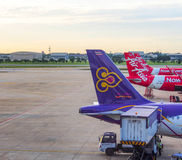 De internationale luchthaven van Don Muang, Bangkok, Thailand 2 Royalty-vrije Stock Fotografie