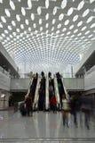 De Internationale Luchthaven van Guangzhoubaiyun, China stock foto's
