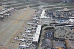 De Internationale Luchthaven van hartsfield-Jackson Atlanta Stock Afbeelding