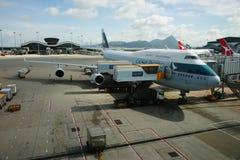 De internationale luchthaven van Hong Kong Royalty-vrije Stock Afbeeldingen