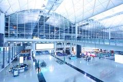 De Internationale Luchthaven van Hongkong Stock Afbeeldingen