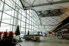 De Internationale Luchthaven van Hongkong Royalty-vrije Stock Afbeelding