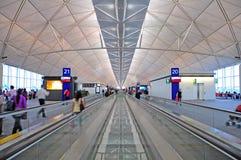 De internationale luchthaven van Hongkong Royalty-vrije Stock Afbeeldingen