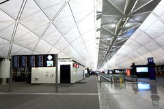 De Internationale Luchthaven van Hongkong Stock Fotografie