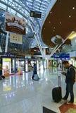 De internationale luchthaven van Kuala Lumpur, Maleisië Stock Foto's