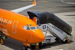 De Internationale Luchthaven van Lanseria Royalty-vrije Stock Afbeeldingen