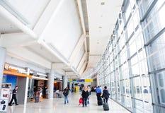De Internationale Luchthaven van Newark Stock Afbeelding