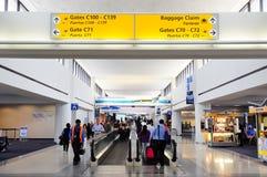 De Internationale Luchthaven van Newark Stock Foto