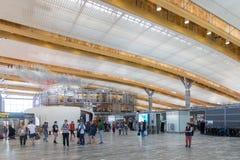 De Internationale Luchthaven van Oslo Gardermoen Stock Foto's