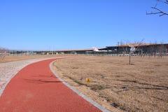 De Internationale Luchthaven van Peking stock afbeelding
