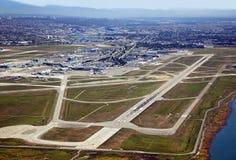 De Internationale Luchthaven van Vancouver stock fotografie
