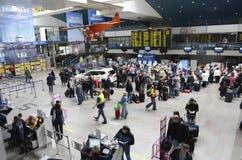 De Internationale luchthaven van Vilnius Royalty-vrije Stock Foto's