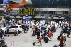 De Internationale luchthaven van Vilnius Stock Foto