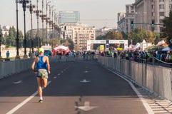 2015 de Internationale Marathon van Boekarest Stock Afbeeldingen